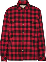 Current/Elliott The Workman plaid cotton jacket