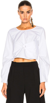 J.W.Anderson Long Sleeve Top in White.