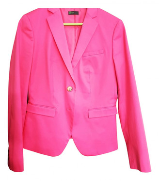 Benetton Pink Polyester Jackets