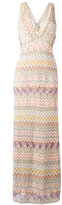 Missoni zig zag dress - women - Silk/Polyester/Spandex/Elastane/Viscose - 40
