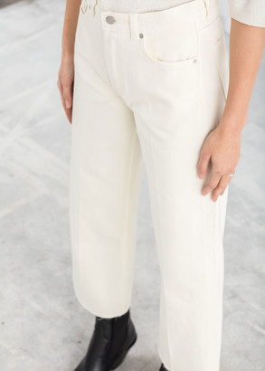 And other stories Kick Flare Mid Rise Jeans