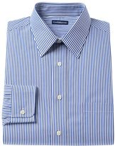 Croft & Barrow Men's Classic-Fit Striped Easy-Care Point-Collar Dress Shirt