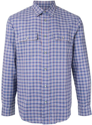Kent & Curwen Checked Long Sleeve Shirt