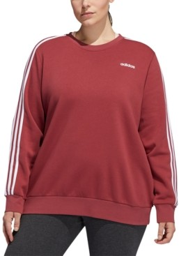 adidas Essentials Plus Size Fleece Sweatshirt