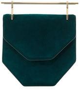 M2Malletier Amor Fati Painted Leather Satchel Bag
