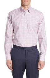 Eton Contemporary Fit Multi Check Dress Shirt