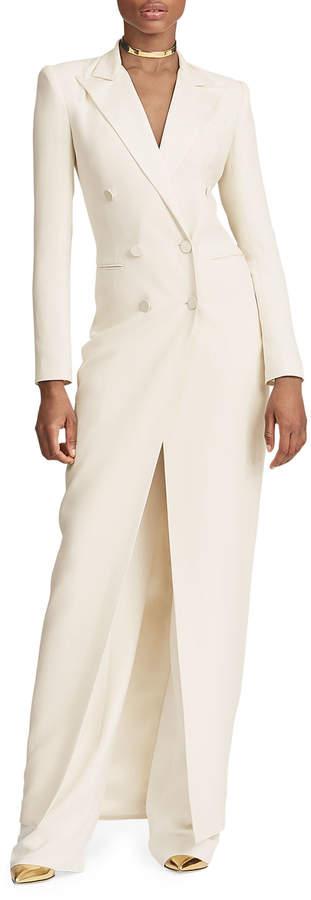 Ralph Lauren Kristian Tuxedo Evening Dress