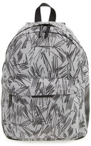 Stella McCartney Girl's Scribble Print Backpack - Grey