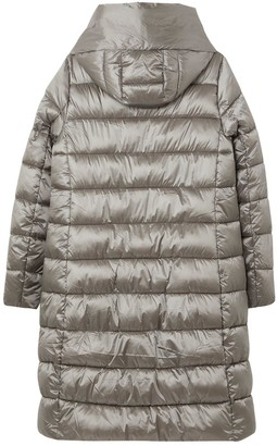 Joules Langholm A Line Padded Coat - Slate