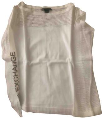 Armani Collezioni White Cotton Knitwear for Women