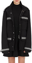 Givenchy Women's Jewel-Embellished Cotton Field Jacket