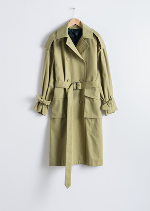And other stories Oversized Belted Trenchcoat