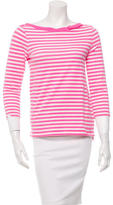 Kate Spade Striped Long Sleeve Top