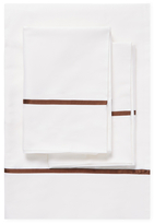Ann Gish Silk-Trim Solid Sheet Set