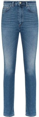 Totême High-Waisted Slim-Fit Jeans