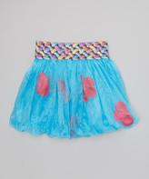 wenchoice Girls Pink /& Yellow Petal Bubble Tutu