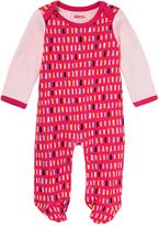 Skip Hop Pink Confetti Footie