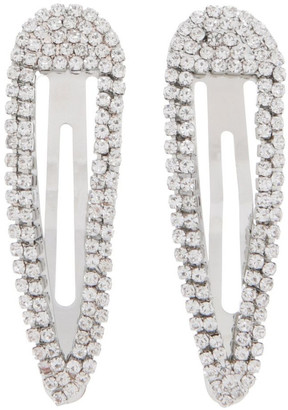 Piper 2 Pack Diamante Snap Clips