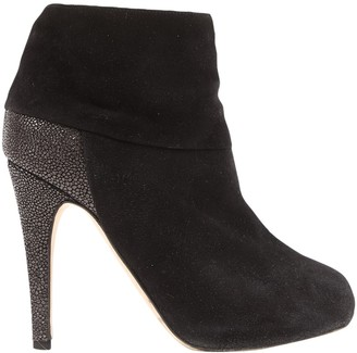 Hotel Particulier Black Suede Boots