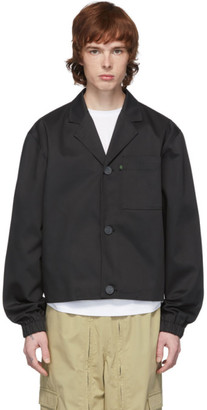 Xander Zhou Black Notched Lapel Jacket