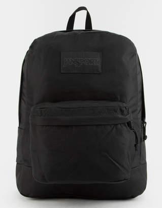 JanSport Monochrome Black Backpack