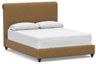 Pottery Barn Chesterfield Leather Bed