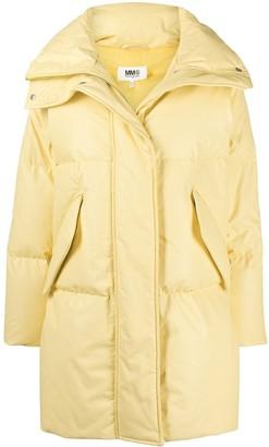 MM6 MAISON MARGIELA Padded High-Neck Coat