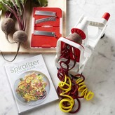 Paderno Collapsible 3-Blade Spiralizer & Spiralizer Cookbook