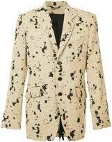 Ann Demeulemeester Novice jacket - men - Linen/Flax/Polyamide - S