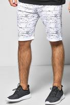 Boohoo Printed Jersey Shorts