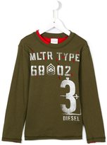 Diesel 'Kyaab' top - kids - Cotton - 6 yrs