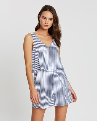 Atmos & Here V-Neck Playsuit