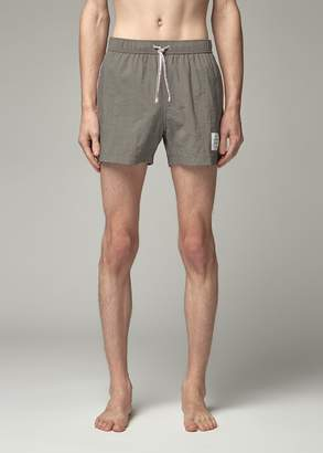 Thom Browne Men's Drawcord Waist Swim Short Size 0 100% Polyamide