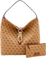 Dooney & Bourke Madison Signature Logo Lock Sac Bundle Shoulder Bag