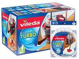 Vileda EasyWring & Clean Turbo Spin Mop plus EasyWring & Clean Classic Refill