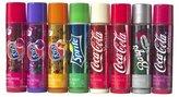 Bonne Bell Lip Smackers Coca Cola Fanta Sprite Coke Bargs, Set of 8 Lip Balms