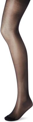Dim Women's Diam's Panty Semi Opaco 25d Hold-Up Stockings Black (Negro 127) Medium (size: 3)