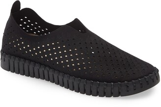 Ilse Jacobsen Tulip 139 Perforated Slip-On Sneaker