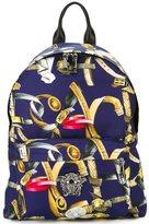 Versace 'Palazzo Medusa' belt print backpack