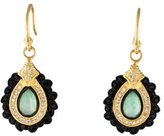 Armenta Two-Tone Old World Drop Earrings