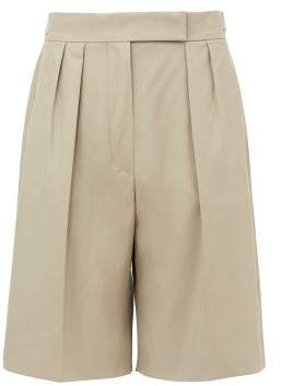Max Mara Safari Shorts - Womens - Beige