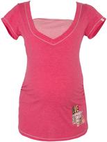 Fuchsia Joy 'Love Your Self' Maternity/Nursing Pajama Top