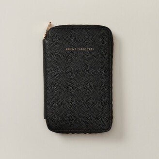 Love & Lore Love And Lore Family Travel Wallet Black