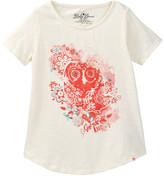 Lucky Brand Owl Tee (Little Girls)