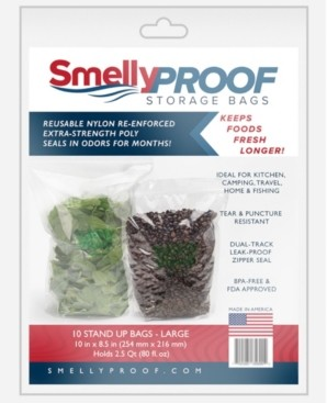 """Smelly Proof Bags Hang Tag, 8.5"""" H x 0.3"""" L"""
