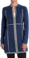Aventura Clothing Sloan Zip-Front Tunic Sweater - Merino Wool (For Women)
