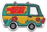 Scooby-Doo Mystery Machine Cartoon Patch 3-1/8 Inches Long Size