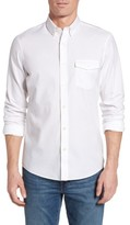 Nordstrom Men's Slim Fit Washed Oxford Sport Shirt