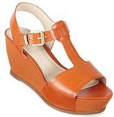 Studio Paolo® Friction T-Strap Wedge Sandals