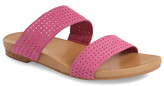 Johnston & Murphy Jodi Perforated Slide Sandal